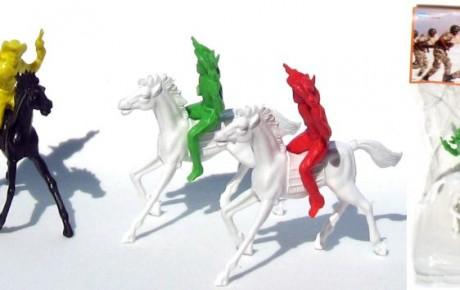 vaqueros con caballo soldaditos guada
